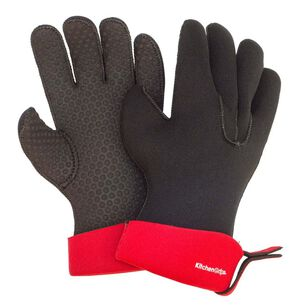 Kitchen Grips Red Chef Gloves, Set of 2