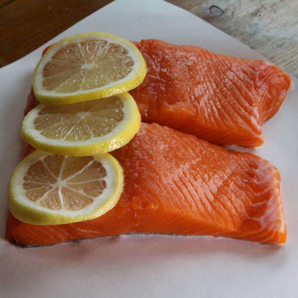 Porter & York Wild King Salmon Portions, Pack of 4