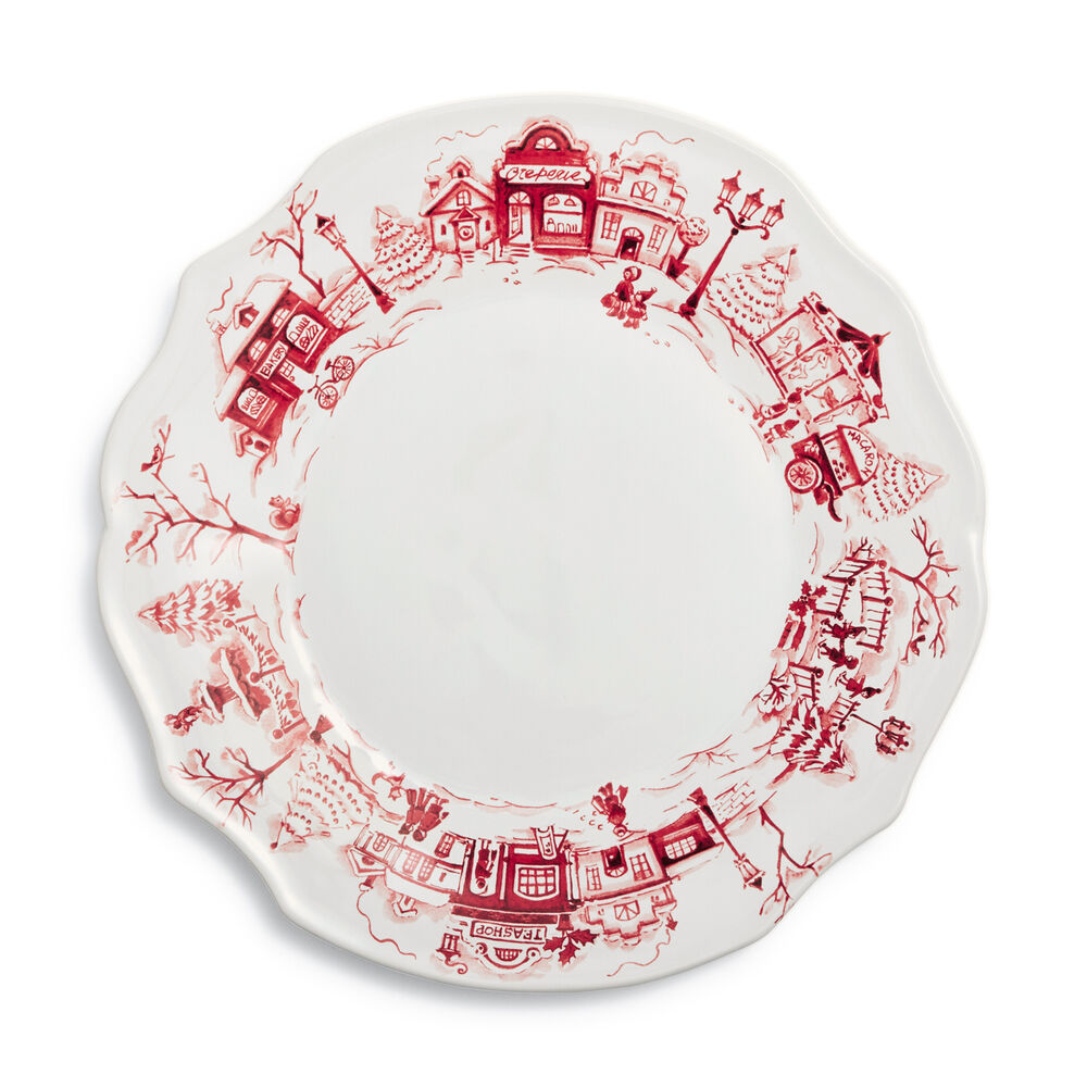 Snowy Lane 16-Piece Dinnerware Set
