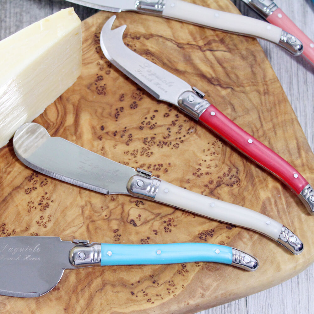 French Home 7-Piece Laguiole Cheese Knife & Spreader Set, 7 Piece