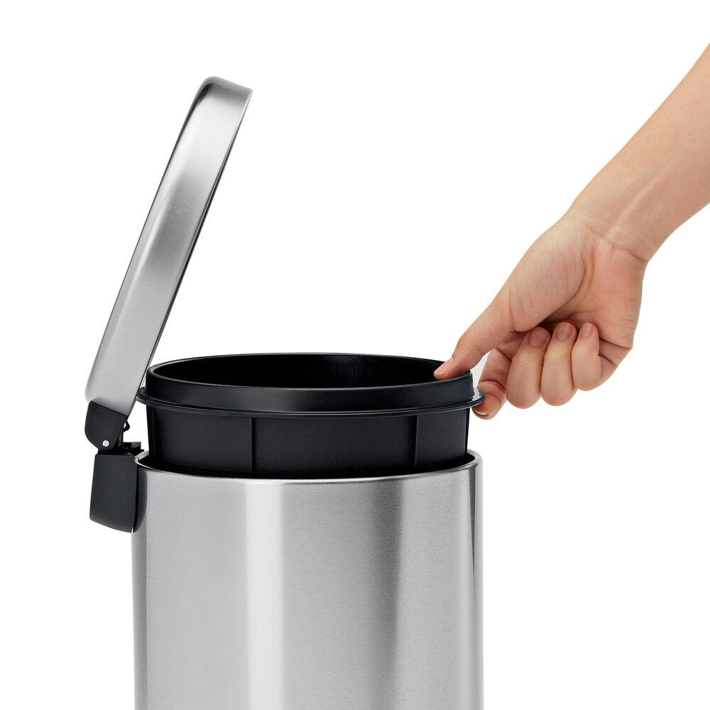 simplehuman Round Trash Can, 1.19 gal.