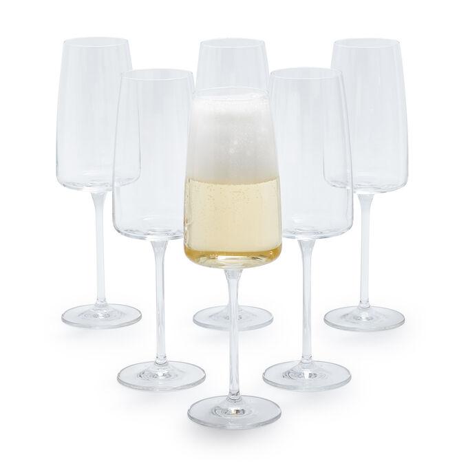 Schott Zwiesel Sensa Champagne Flutes, Set of 6