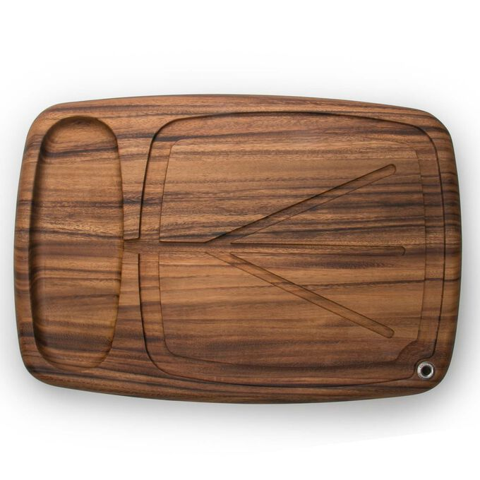 Kansas City Carving Board with Juice Channels