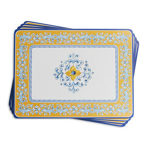 Mercado Cork-Backed Placemats, Set of 4