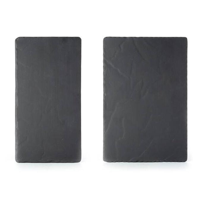 Revol Basalt Medium Platters, Set of 2
