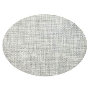 "Chilewich Mini Basketweave Oval Placemat, 14"" x 19.25"""