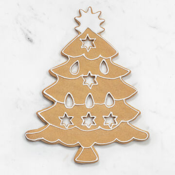 Large Christmas Tree Copper Cookie Cutter