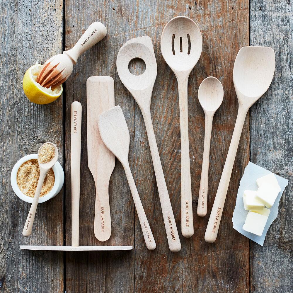 Sur La Table Beechwood Sauté Spoon