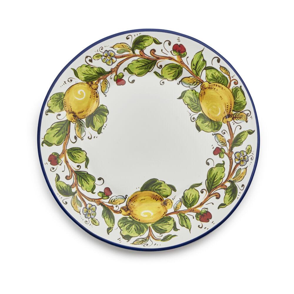 Nova Deruta Lemons Salad Plate