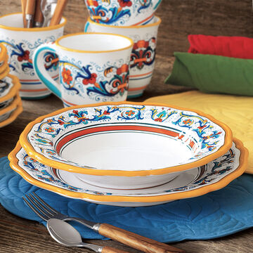 Nova Deruta Soup Bowls, Set of 4