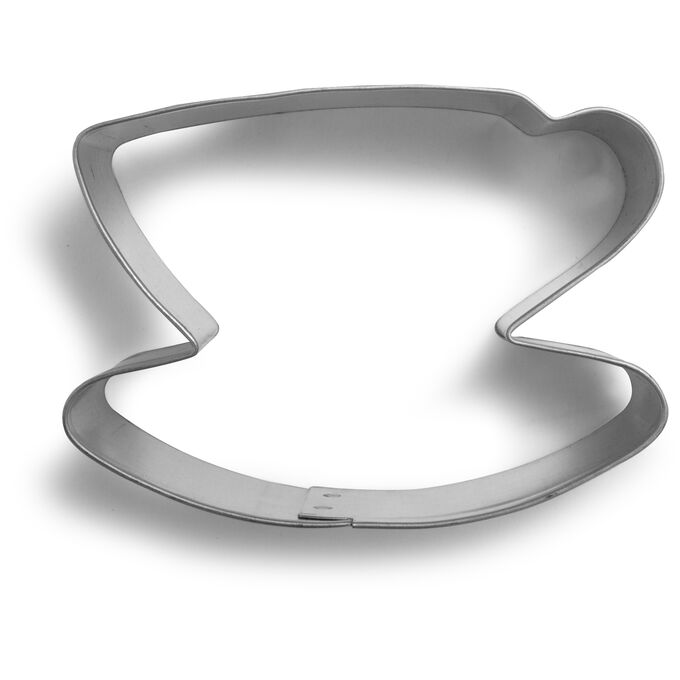 """Teacup and Saucer Cookie Cutter, 3"""""""