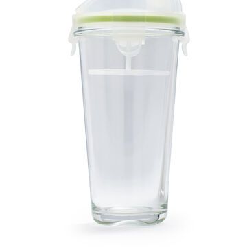 Glass Smoothie Container with Locking Lid