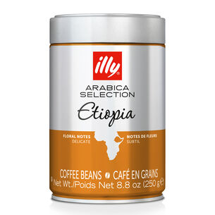 illy Arabica Selection Ethiopia Whole-Bean Coffee, 8.8 oz.