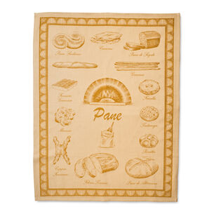 "Pantry Bread Jacquard Kitchen Towel, 31.5"" x 23.5"""