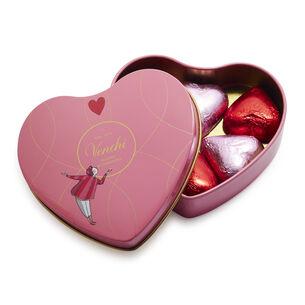 Venchi Chocolate Mini Heart Tin