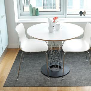 Chilewich Basketweave Floor Mat, Carbon