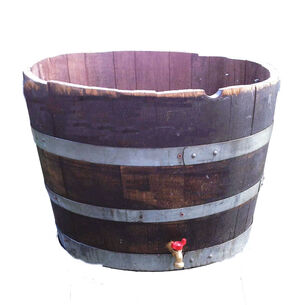 LadyBagsSF Wine Barrel Cooler