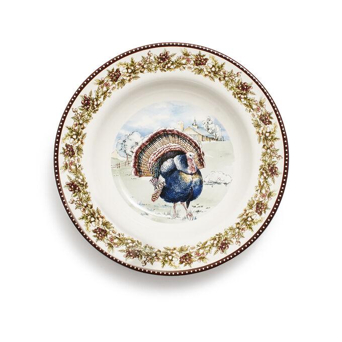Turkey Soup Plate