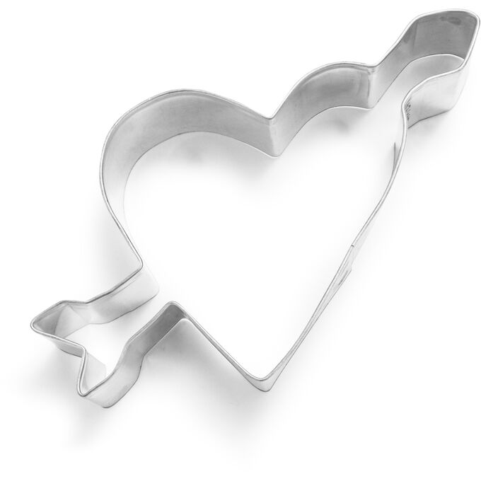 """Heart with Arrow Cookie Cutter, 3.5"""""""