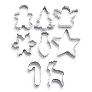 Christmas Cookie Cutters, Set of 8