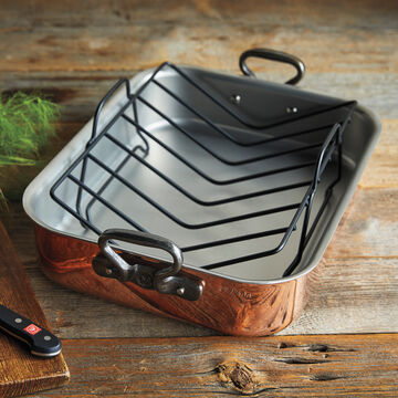 Limited Edition Mauviel Copper Roaster