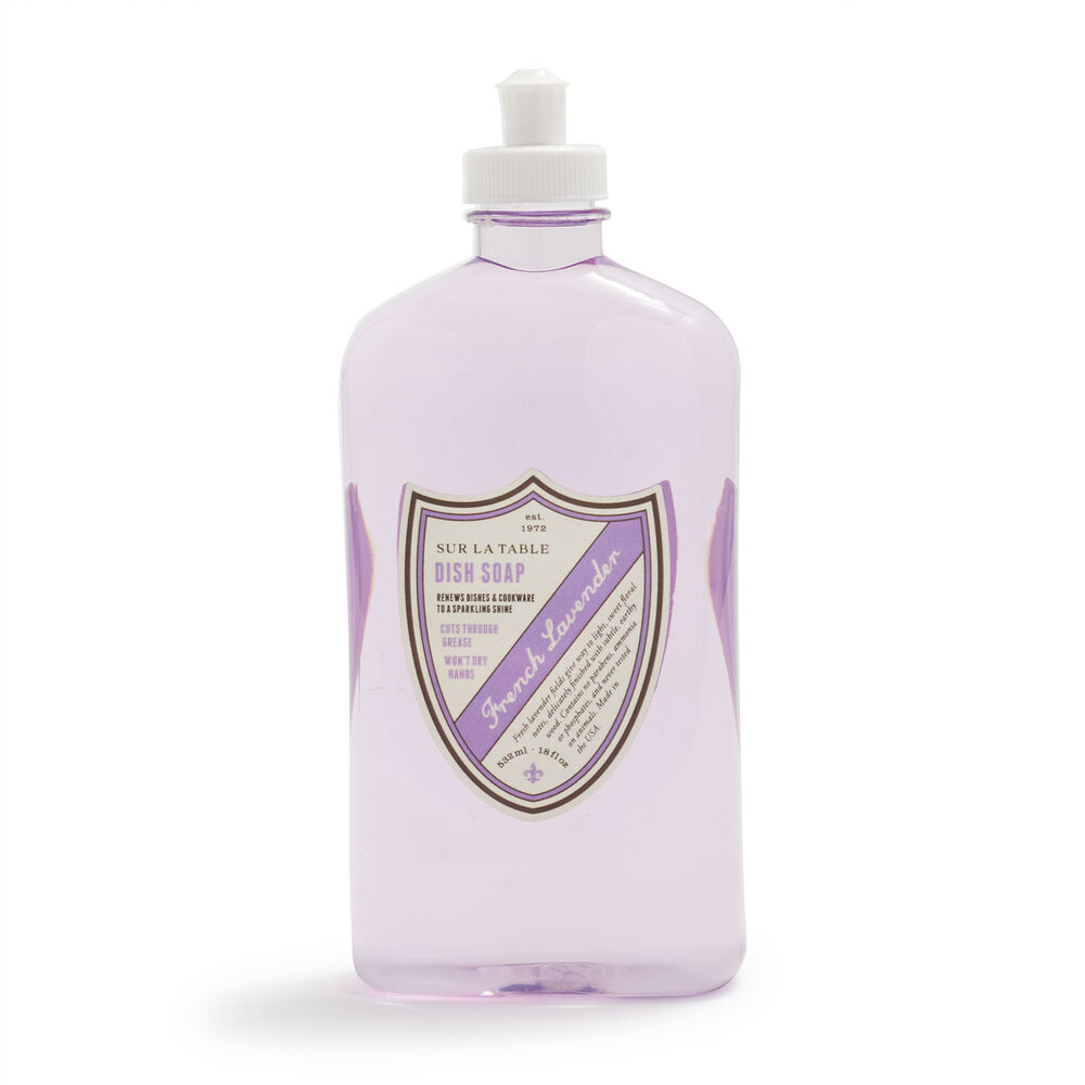 Sur La Table French Lavender Dish Soap, 18 oz.