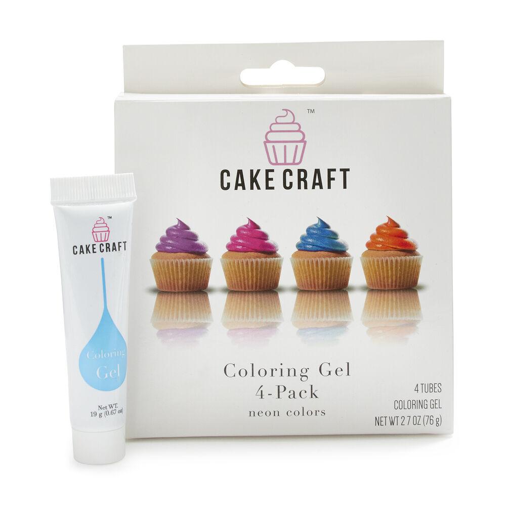 Cake Craft 4-Pack Color Gel Kit