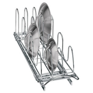"Lynk Professional Roll-Out Lid Holder, 7.25"" x 21"" x 9"""