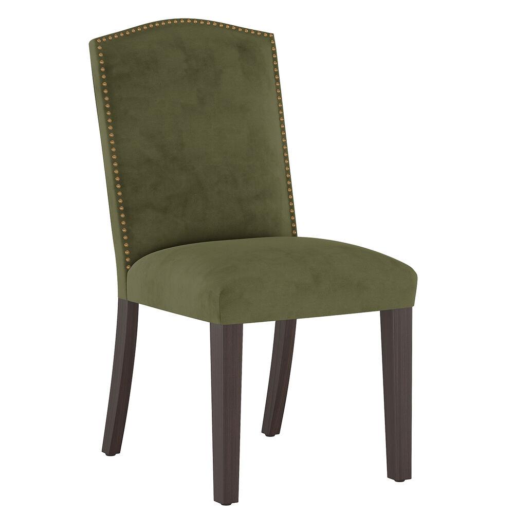 Delphine Dining Chair, Espresso Leg Finish