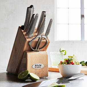 Global 10-Piece Takashi Knife Block Set
