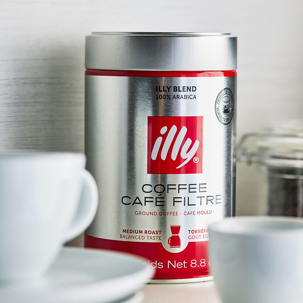 illy Ground Coffee, Medium Roast