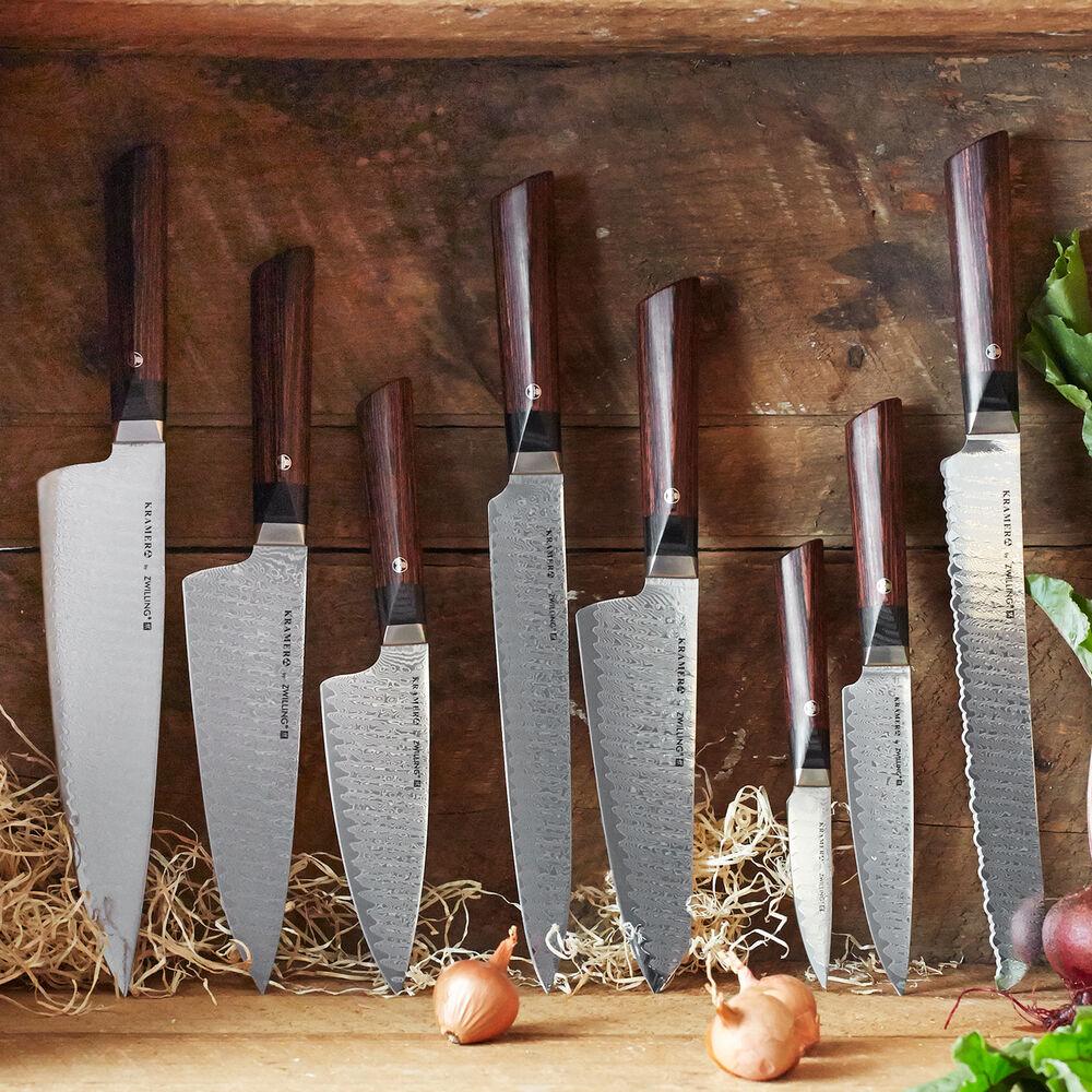 """Bob Kramer Meiji 10"""" Bread Knife by Zwilling J.A. Henckels"""