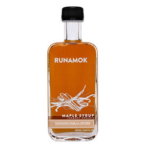 Runamok Organic Cinnamon and Vanilla Infused Maple Syrup – Grade A Amber