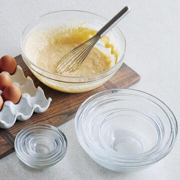 Duralex Lys Clear Stackable Bowls, Set of 10