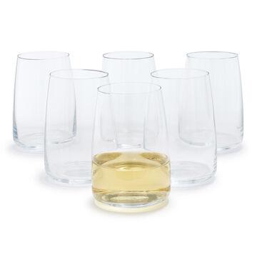 Schott Zwiesel Sensa Stemless Wine Glasses, Set of 6