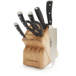 Wüsthof Classic Ikon 7-Piece Knife Block Set