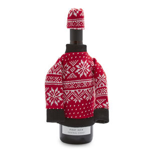 Après Ski Wine Bottle Sweater