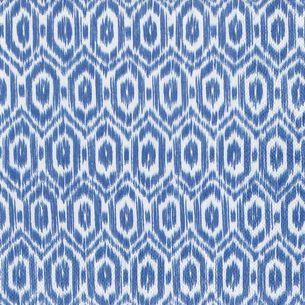 Amala Ikat Blue Cocktail Napkins, Set of 20