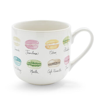 Macarons Mug, 15 oz.