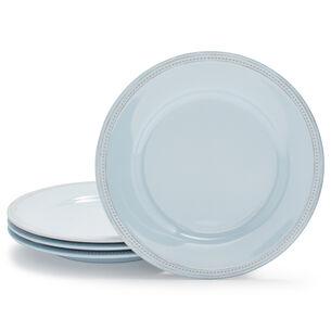 Pearl Melamine Dinner Plates, Set of 4