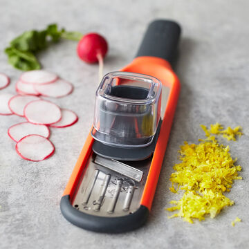 Joseph Joseph Handi-Grate 2-in-1 Mini Grater and Slicer