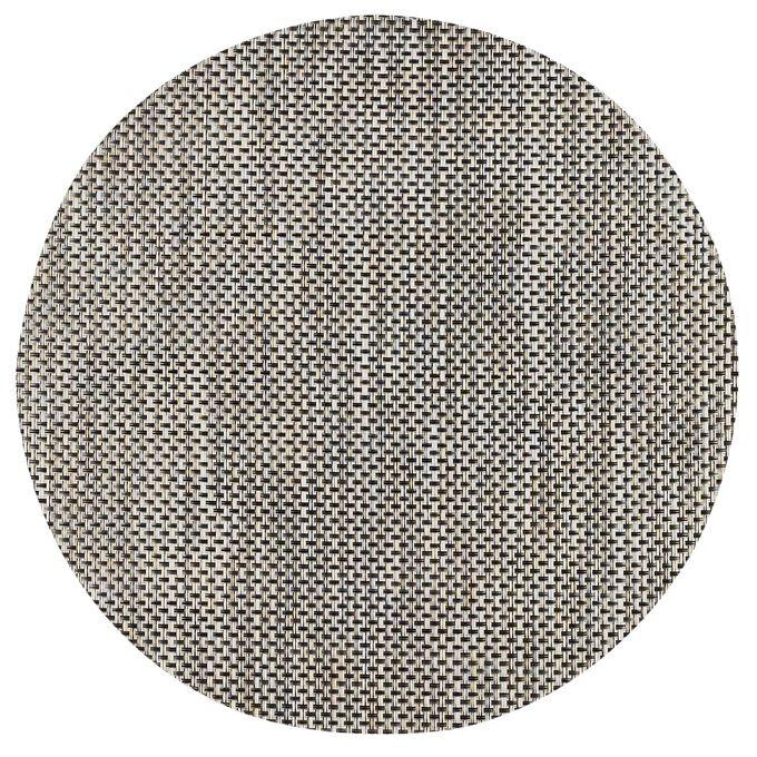 "Chilewich Basketweave Round Placemat, 15"""