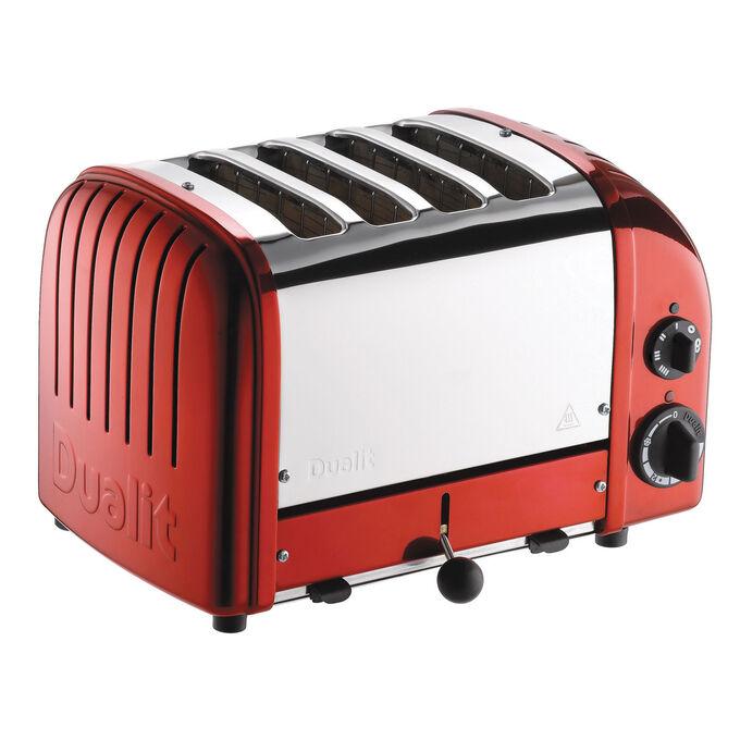Dualit Apple-Red NewGen 4-Slice Toaster