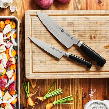 Zwilling J.A. Henckels Four Star Rock & Chop 2-Piece Knife Set