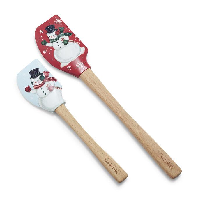 Mini and Me Snowman Spatulas, Set of 2