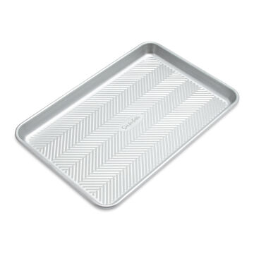 "Sur La Table Silver Classic Jellyroll Pan, 10"" x 15"""