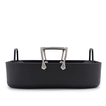 """All-Clad HA1 Nonstick Roasting Pan with Rack, 16"""" x 13"""""""