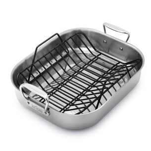 All-Clad Stainless Steel Roasting Pan with Nonstick Rack