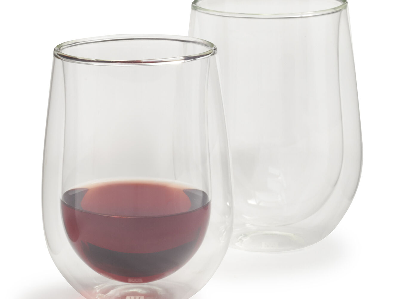Zwilling J.A. Henckels Sorrento Double-Wall Stemless Wine Glasses, 12 oz., Set of 2 | Sur La Table