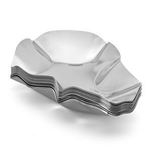 Stainless Steel Oyster Shells, 12 pack